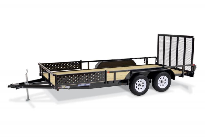 2018 Sure-Trac 6X12 TUBE TOP ATV Trailer