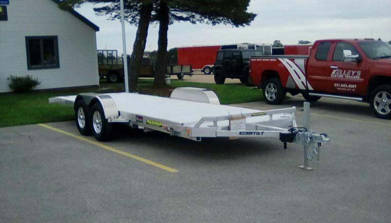 2018 Aluma 7X20 CAR HAULER/TILT Equipment Trailer