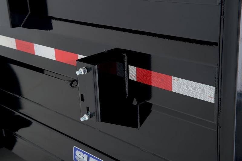2019 Sure-Trac 6X10 LO PRO SINGLE RAM Dump Trailer