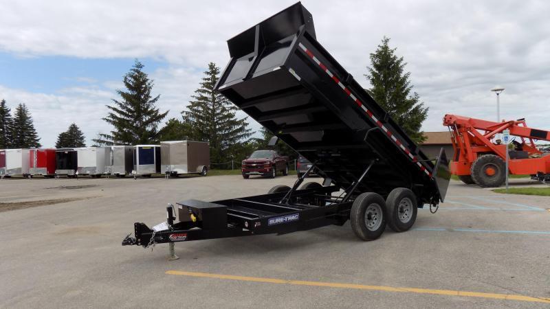2020 Sure-Trac 82 IN X 12 LProfile 14K Dual Ram Dump