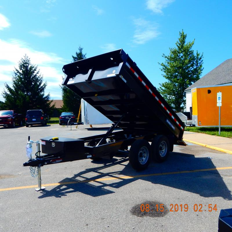 2020 Sure-Trac 6x10 Deck Over 10k Dump Trailer