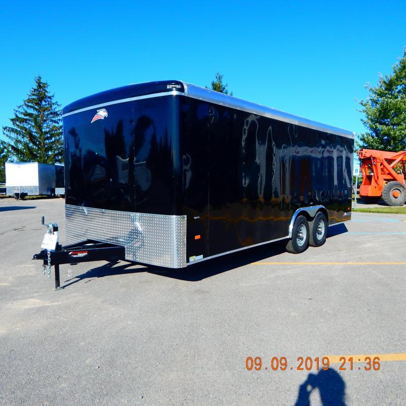 2019 American Hauler Industries 8.5x20 10k Air Lite Enclosed Cargo Trailer
