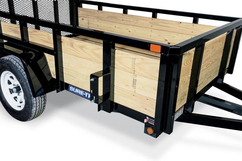 2019 Sure-Trac 6X12 3 Board 7K Utility Trailer