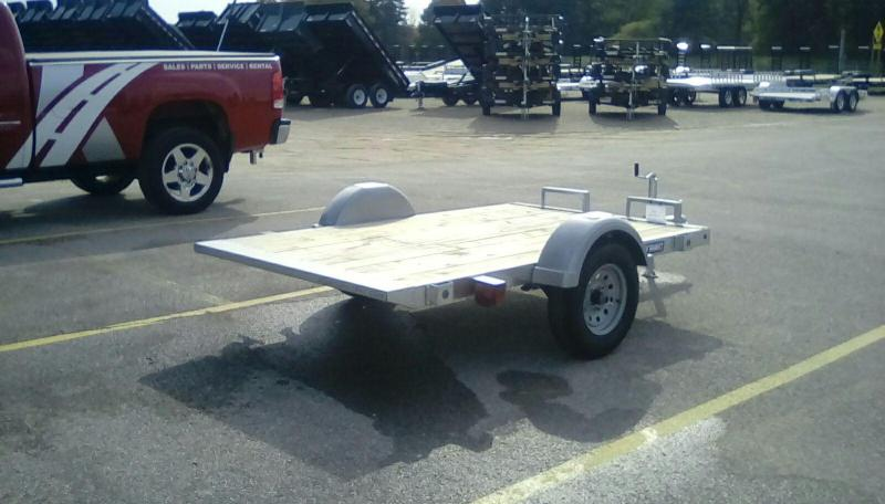 2018 Sure-Trac 5 x 8 Galvanized Tilt Bed 2k Idler