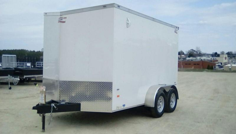 2019 American Hauler Industries 7X12 7K Night Hawk Enclosed Cargo Trailer