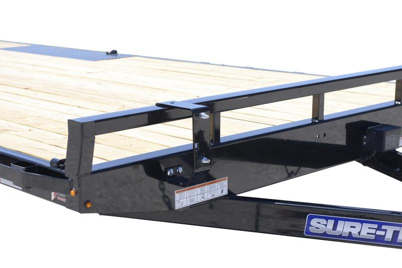 2018 Sure-Trac 8.5X24 DECKOVER Equipment Trailer