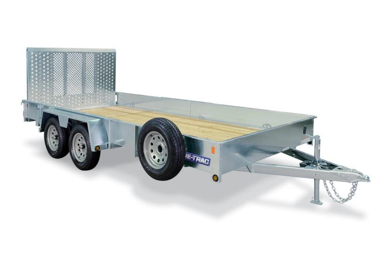 2019 Sure-Trac 7X16 GALVANIZED Utility Trailer