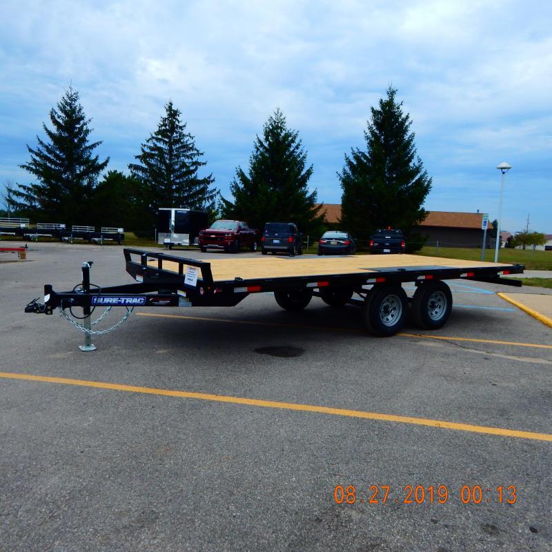 2020 Sure-Trac 8.5 X 18 Flat Deck Deckover  10k