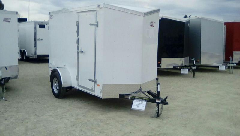 2019 American Hauler Industries 5x10 Arrow 3k Enclosed Cargo Trailer