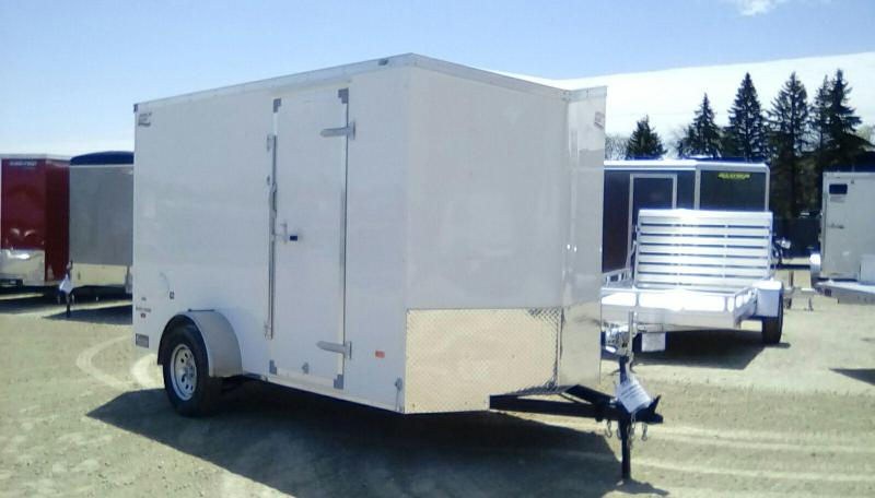2019 American Hauler Industries 6x12 Night Hawk 3k Enclosed Cargo Trailer