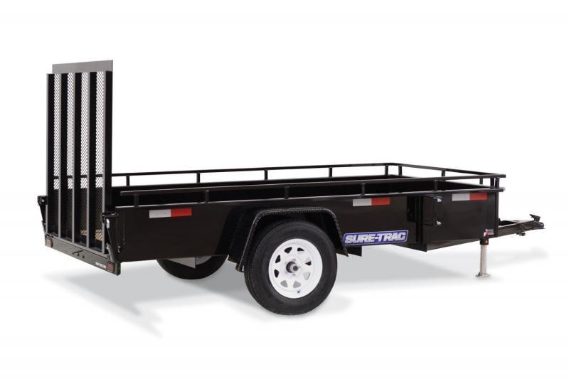 2018 Sure-Trac 7X16 HIGHSIDE Utility Trailer