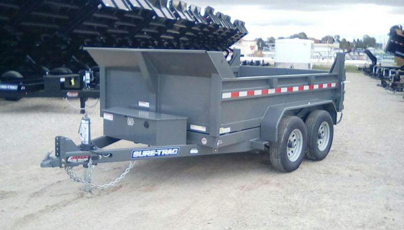 2019 Sure-Trac 72 IN x 10 LProfile 10K Scissor Dump