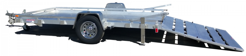 2018 American Hauler Industries 6.5X12 LOWSIDE Equipment Trailer