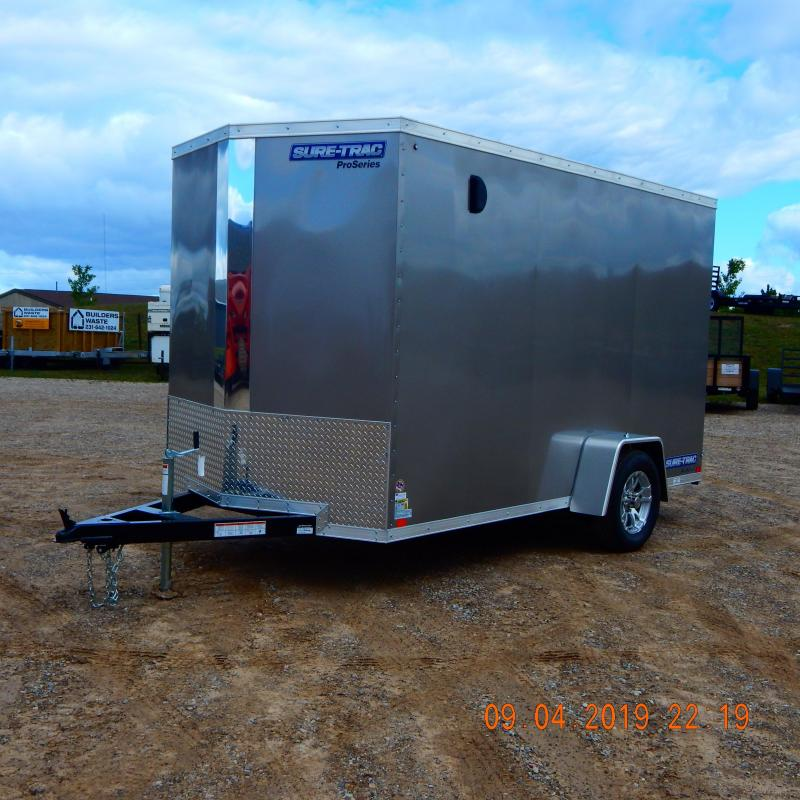 2020 Sure-Trac 6x12 3k Pro-Series Wedge Enclosed Cargo Trailer