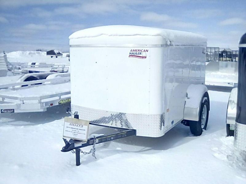 2019 American Hauler Industries 5X8 3K Air Lite Enclosed Cargo Trailer
