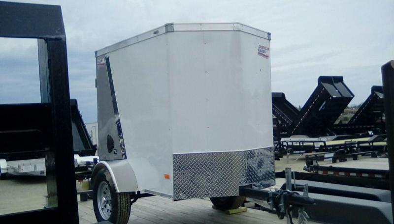 2019 American Hauler Industries 4x6 Night Hawk 2k Enclosed Cargo Trailer