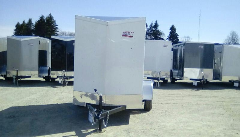 2019 American Hauler Industries 5x8 Arrow 3k Enclosed Cargo Trailer