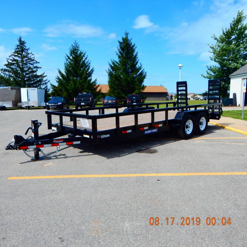 2020 Sure-Trac 7x20 Heavy Duty 14k Equipment Trailer