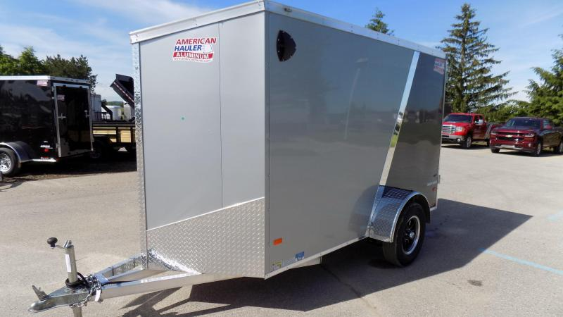 2019 American Hauler Industries 5x10 3k Night Hawk Enclosed Cargo Trailer