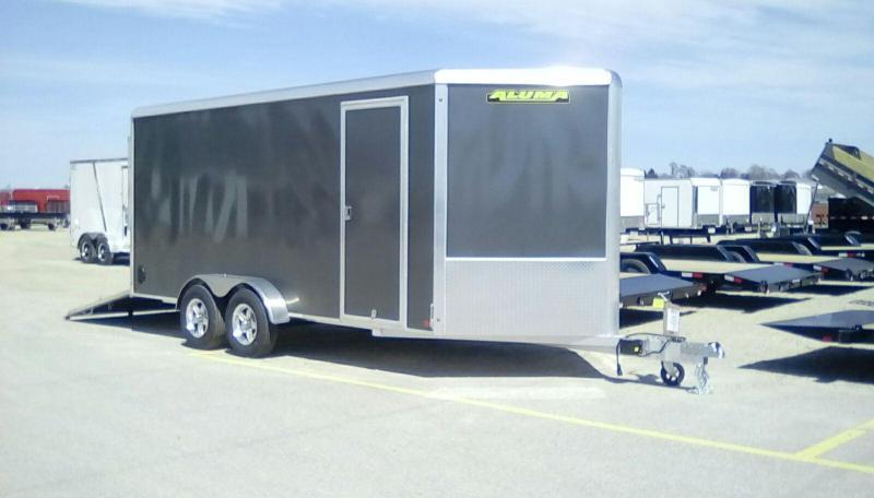2020 Aluma 7x16 7k Enclosed Cargo Trailer