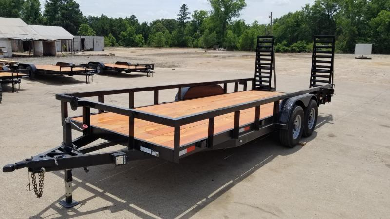 2019 Salvation Trailers 83X20 Equipment Trailer