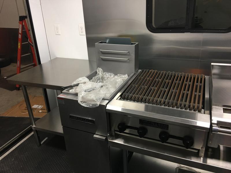 2018 Loaded 8X20TA Food Concession Trailer