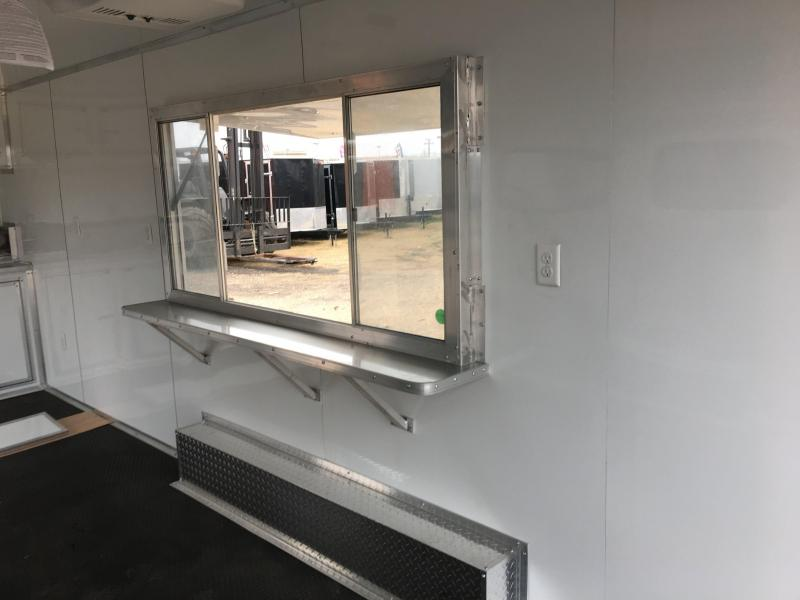 2018 Loaded 8X20TA Food Concession Trailer
