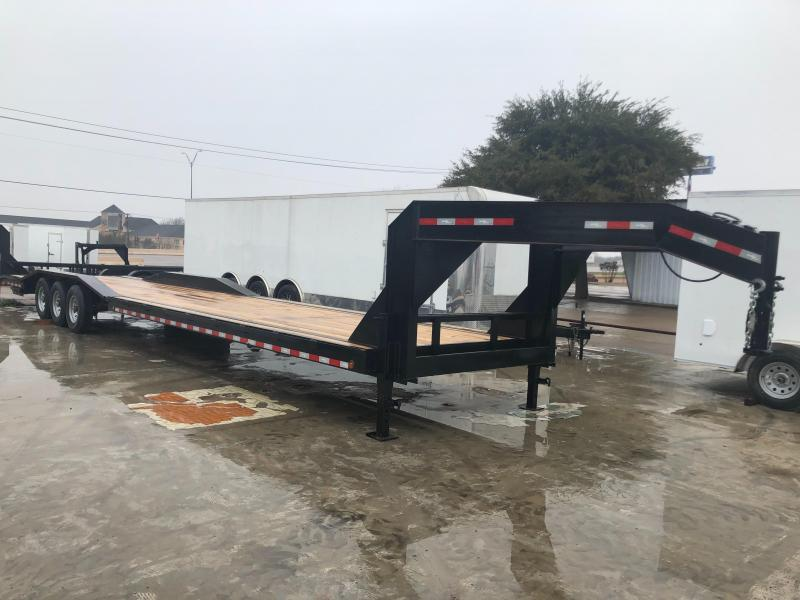 2019Salvation97x40 gooseneck utility Equipment Trailer