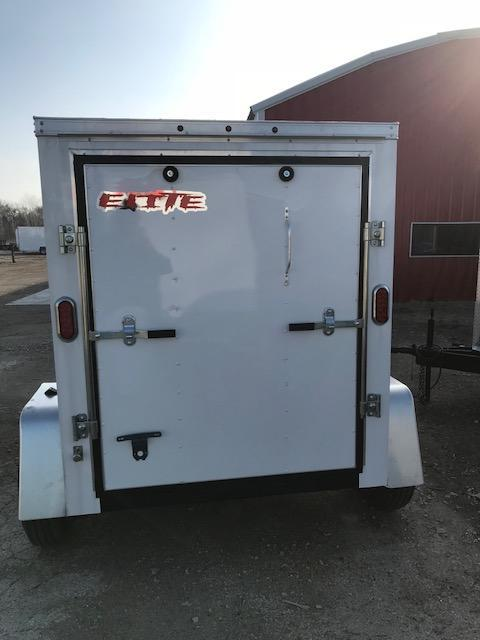 2018 Salvation Trailers 5x6 Enclosed Cargo Trailer