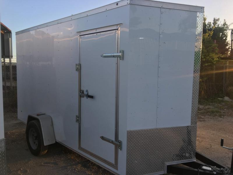 2019 6X12SA Enclosed Cargo Trailer