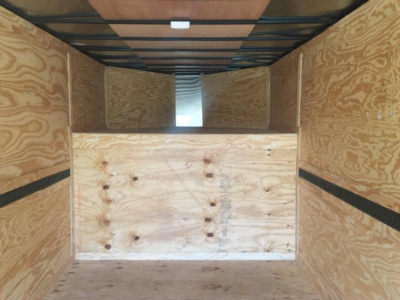 2018 8.5X34TA Gooseneck Enclosed Cargo Trailer