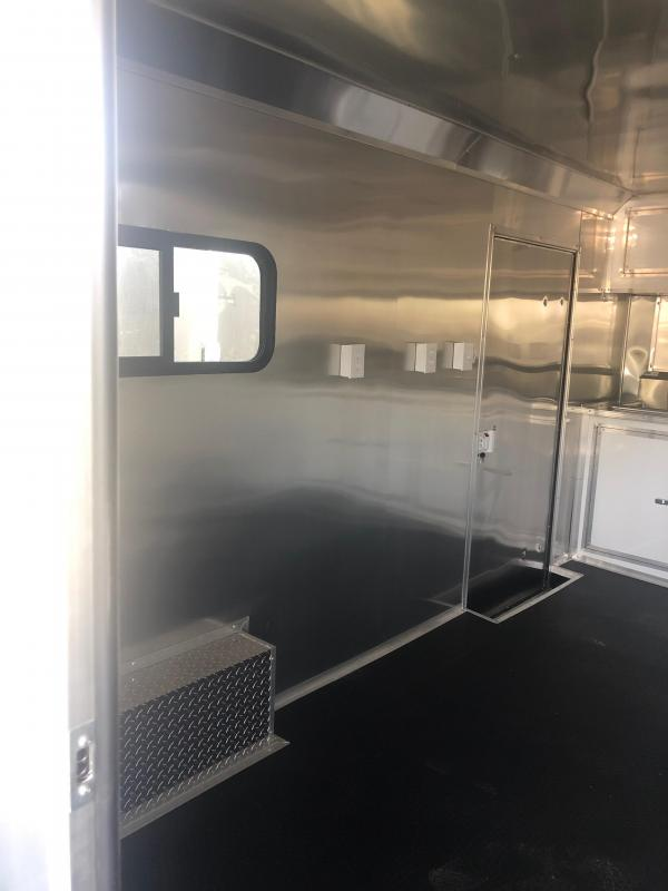 2019 Salvation 8.5X22 BBQ PORCH TRAILER Vending / Concession Trailer
