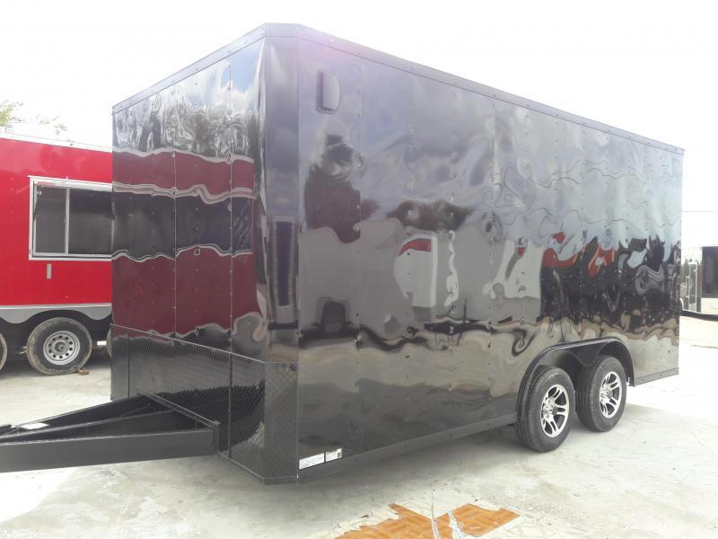 2019 8.5X16 Enclosed Cargo Trailer