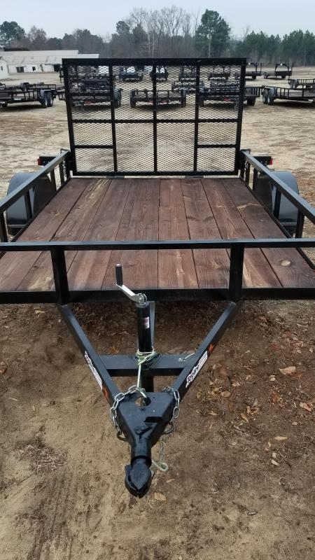 2018 Salvation Trailers 77X12 Utility Trailer