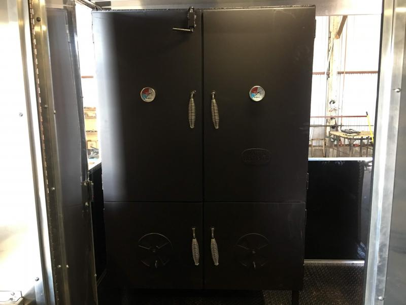 2019 8.5X18TA BBQ Smoker Vending / Concession Trailer