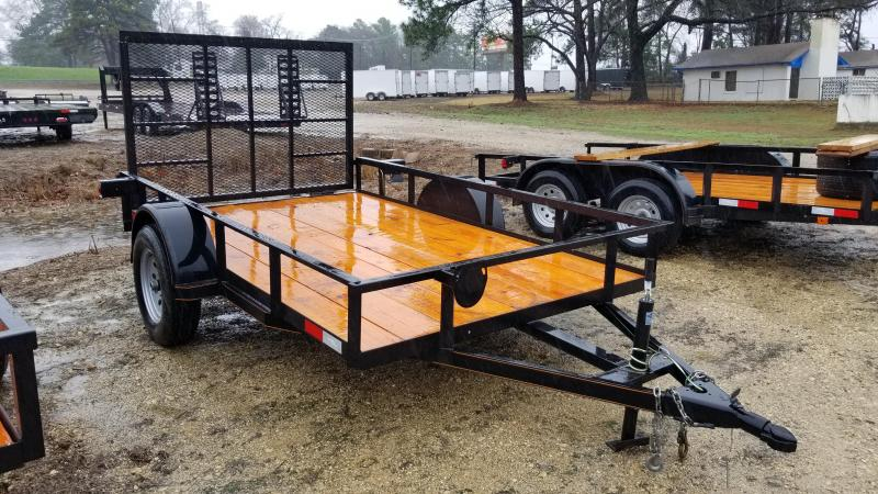2018 Salvation Trailers 77X10 Utility Trailer