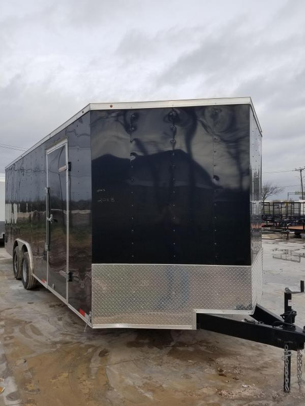 2018 Salvation Trailers 8x20 Enclosed Cargo Trailer