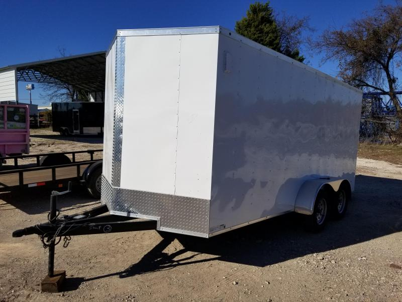 2019 SALVATION 7X16 CARGO Enclosed Cargo Trailer
