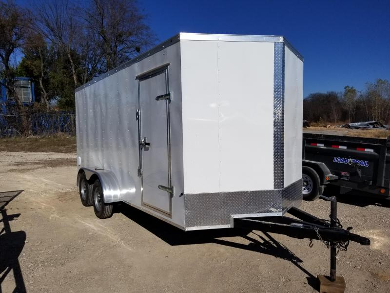 2019 SALVATION 7X16 CARGO Enclosed Cargo Trailer