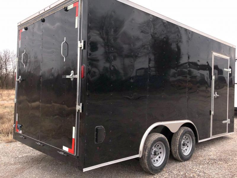 2019  8.5x16 cargo Enclosed Cargo Trailer