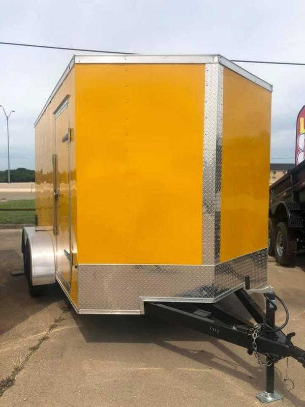 2019 SALVATION 7X12 ENCLOSED Enclosed Cargo Trailer