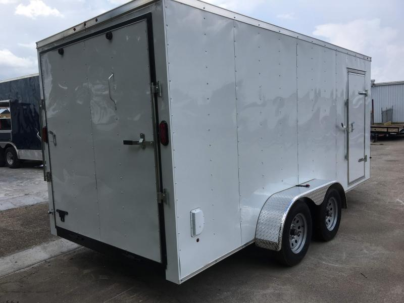 2018 7X16TA Enclosed Cargo Trailer