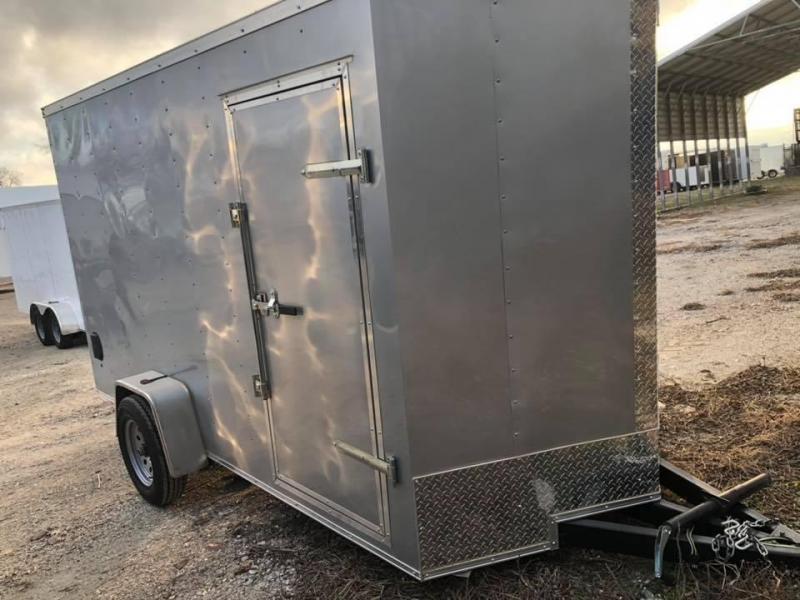 2019  6X12 CARGO Enclosed Cargo Trailer