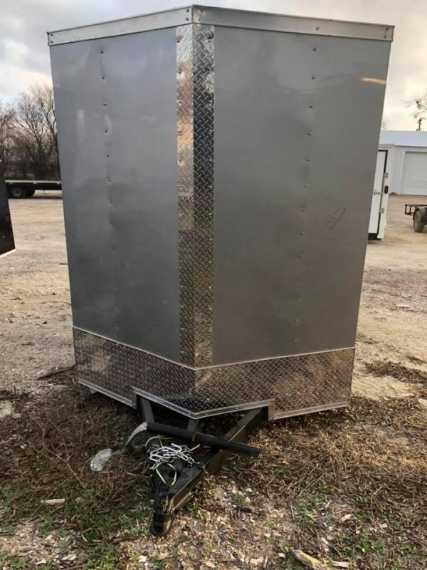 2019  6X12 CARGO Enclosed Cargo Trailer