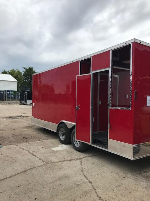 2019 Salvation Trailers 8.5x20 Vending / Concession Trailer