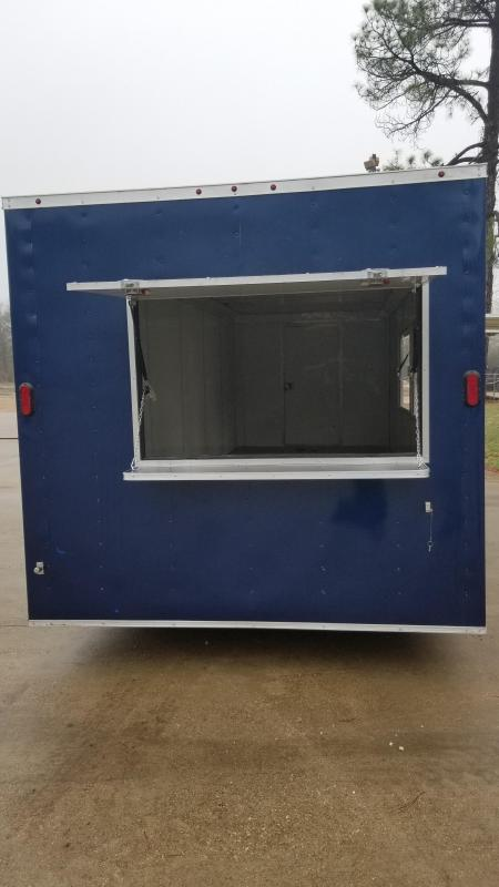 2018 8.5X24 Vending / Concession Trailer