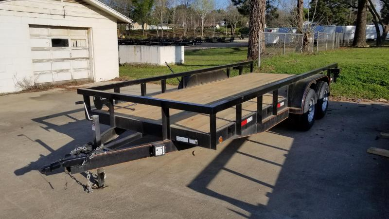 2018 Salvation Trailers 83X18 Utility Trailer
