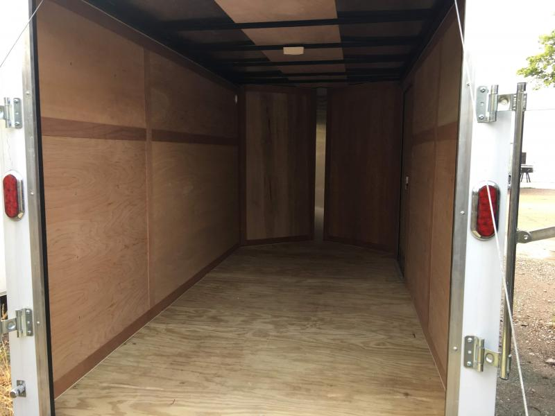 2018 6x12 Enclosed Cargo Trailer