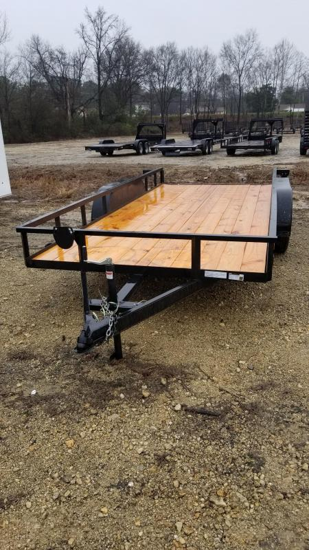 2018 Salvation Trailers 77X16 Utility Trailer