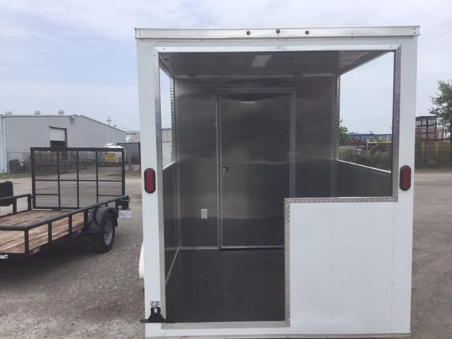 2019 Salvation Trailers 7x16TA Porch Trailer Vending / Concession Trailer